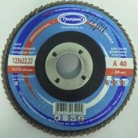 Круг лепестковый торцевой (КЛТ) Tsunami ZK 115х22 P100 (циркониевое зерно)