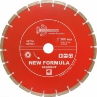 Диск алмазный отрезной сегментный 300*32 (переходное кольцо на 25,4 мм)